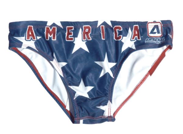 USA Mens Swimming Briefs   Innate Active Swimwear