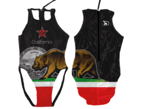 California Black Flag | Innate Active Waterpolo Suit