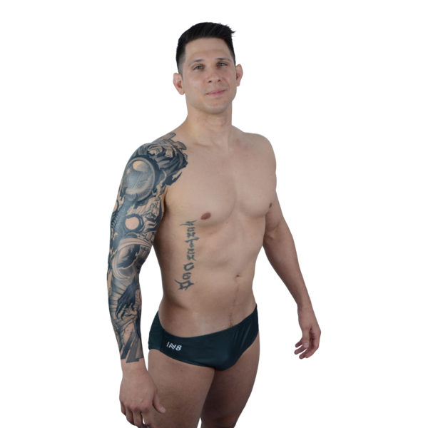 Black Mens Swimming Brief   Innate Active Sustainable & Ethical Briefs