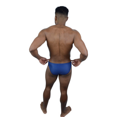 Dark Blue Mens Swimming Brief | Innate Active Sustainable & Ethical Swimwear